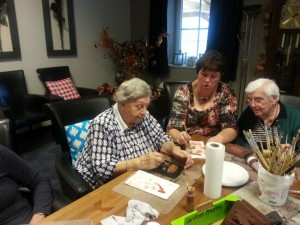Binnen activiteiten voor ouderen